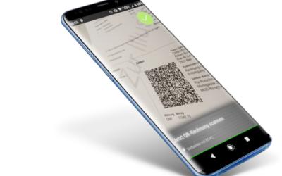 QR-Zahlteil App