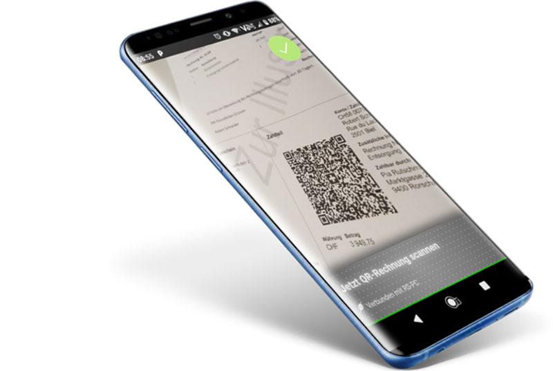QR Zahlteil App